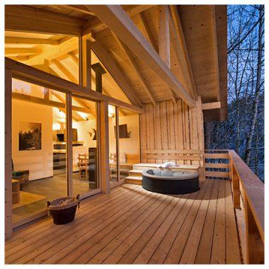 Forstgut Luxus Chalets Ferienhauser Im Bayerischen Wald